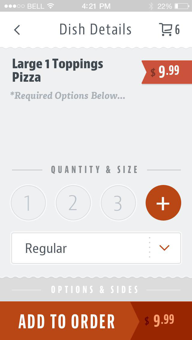 Capri Pizza Akron screenshot 4