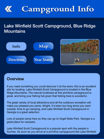 Georgia Campgrounds Guide screenshot 8
