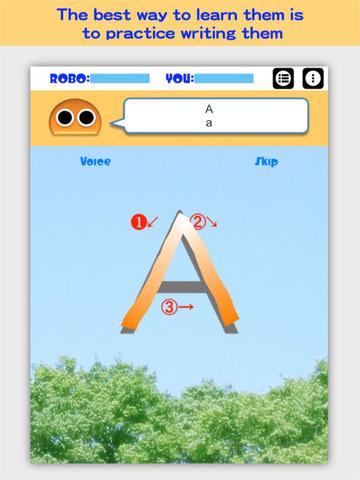 Writing Order FREE Alphabet screenshot 7