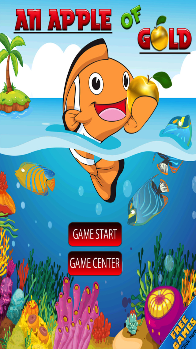 Free Puzzle Game Apple Of Gold screenshot 1