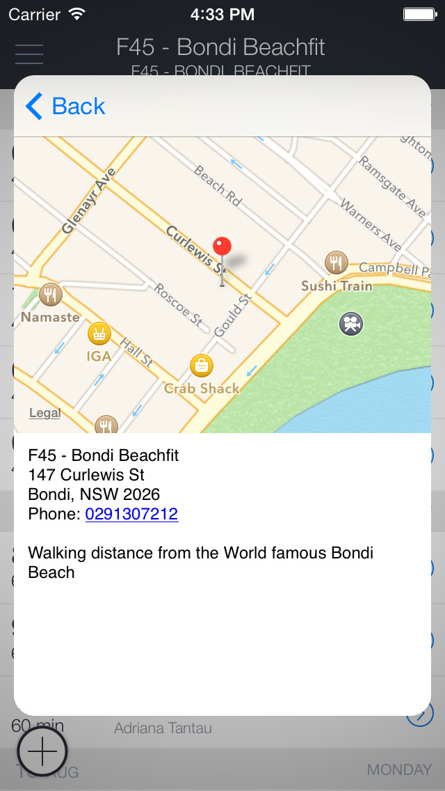 F45 Bondi screenshot 3