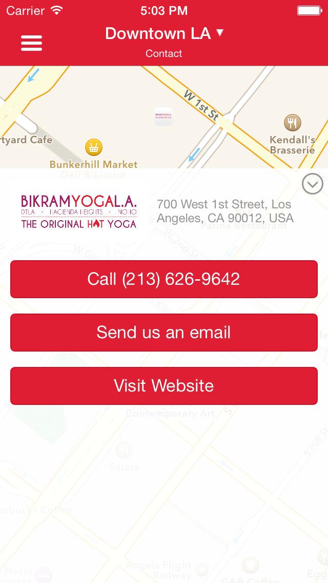Bikram Yoga Downtown LA screenshot #5