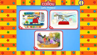 Caillou Let's Pretend screenshot 1