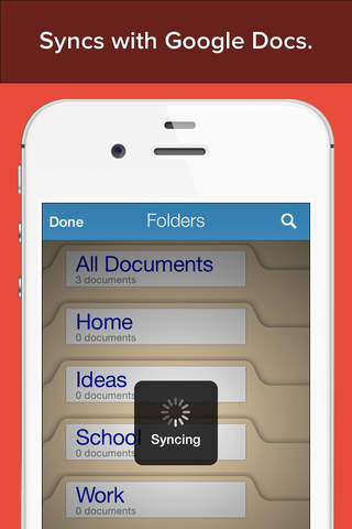 My Writing Desk for iPhone -The Perfect Document W - náhled