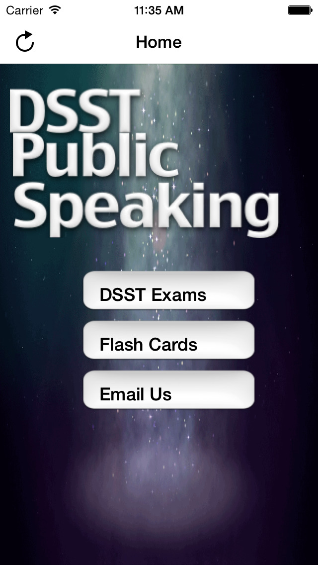 DSST Public Speaking Buddy screenshot 1