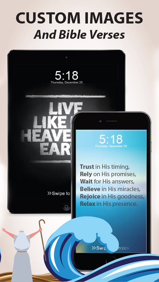 Pocket God - Memorize Bible Verses from Custom Wallpapers! screenshot 4