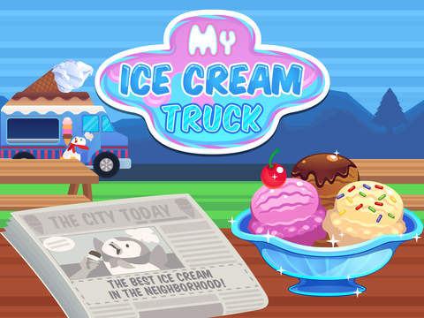 My Ice Cream Truck - Make and Sell Sweet Frozen Desserts screenshot #5