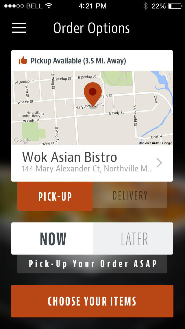 Wok Asian Bistro screenshot 2