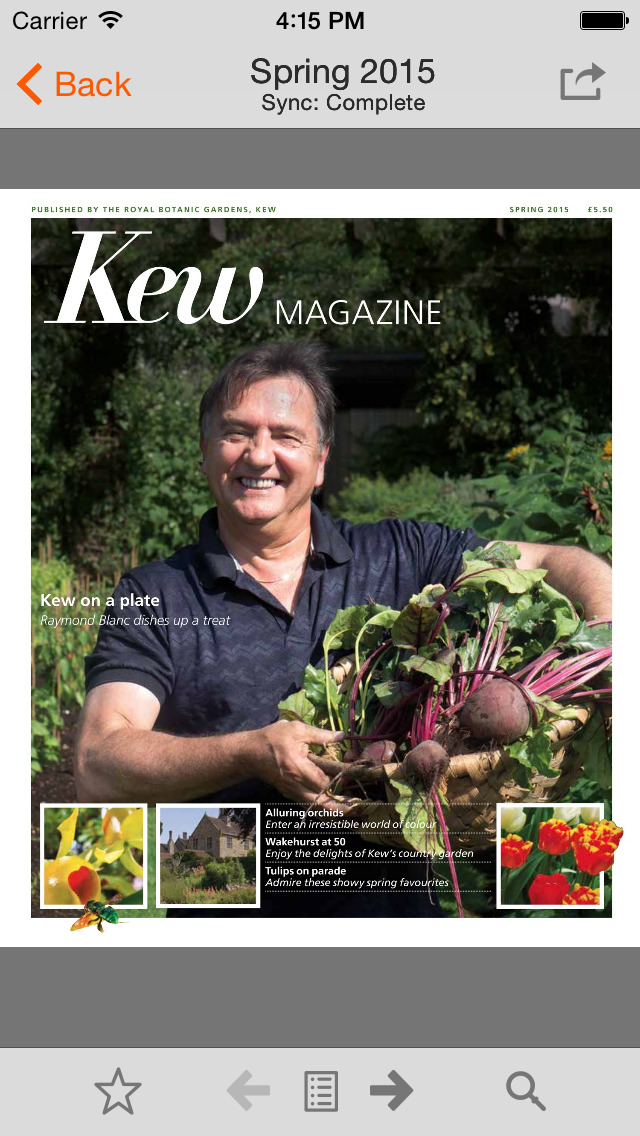 Kew Magazine screenshot 1
