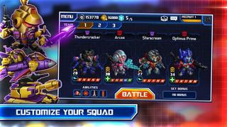 TRANSFORMERS: Battle Tactics screenshot 4