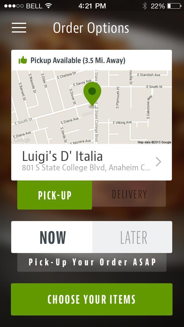 Luigi's D' Italia screenshot 2