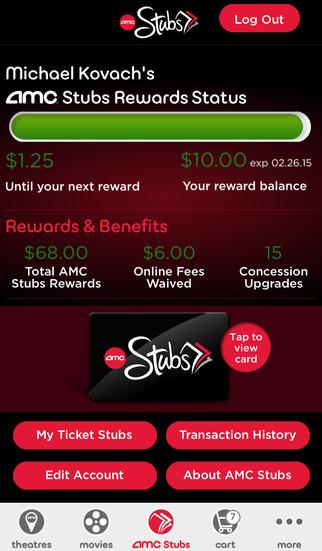 AMC Theatres screenshot 4