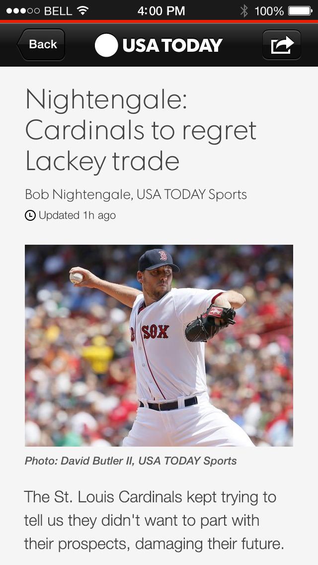 USA TODAY - News: Personalized screenshot 3