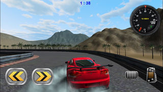 3D Stunt Car Race - eXtreme Racing Stunts Cars Driving Drift Games screenshot 5