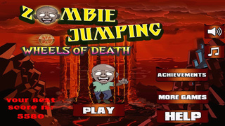 Zombie Jumping Wheels Of Death - Shoot to Kill The Monster Squad Adventure Jam screenshot 1