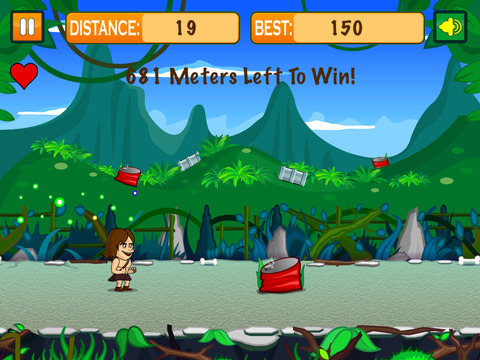 A Jungle Boy Run screenshot 2