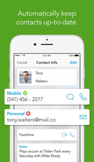 Humin - Phone and Contacts App screenshot 2