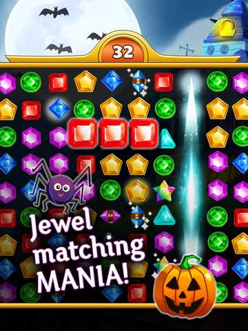 Jewel Mania Halloween screenshot 7