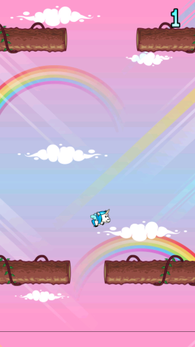 Fly Unicorn Fly! screenshot 1