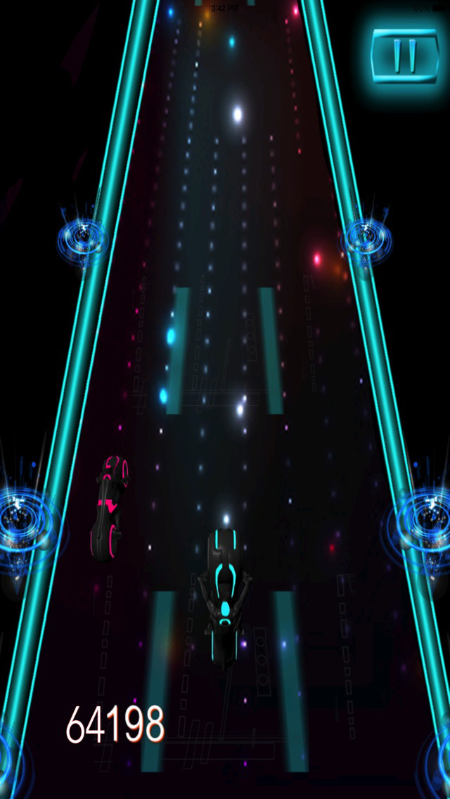 Motorcycle Futuristic Neon PRO : Career End Xtreme screenshot 2