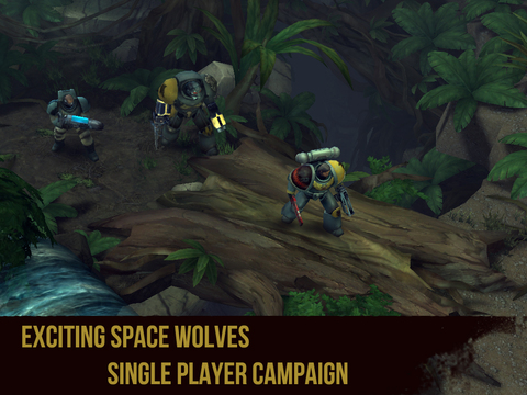 Warhammer 40,000: Space Wolf screenshot 10
