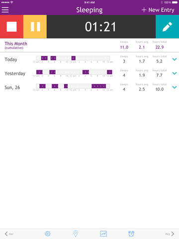 Baby Breastfeeding Tracker screenshot 9