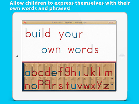 Montessori Movable Alphabet screenshot 10