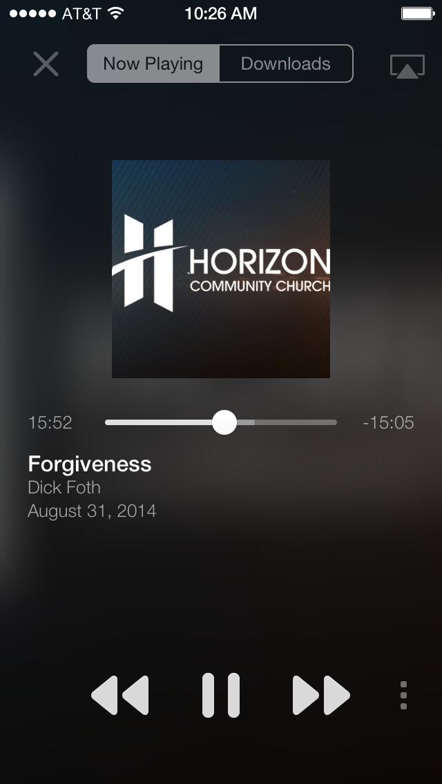 Horizon Community Church App screenshot 2