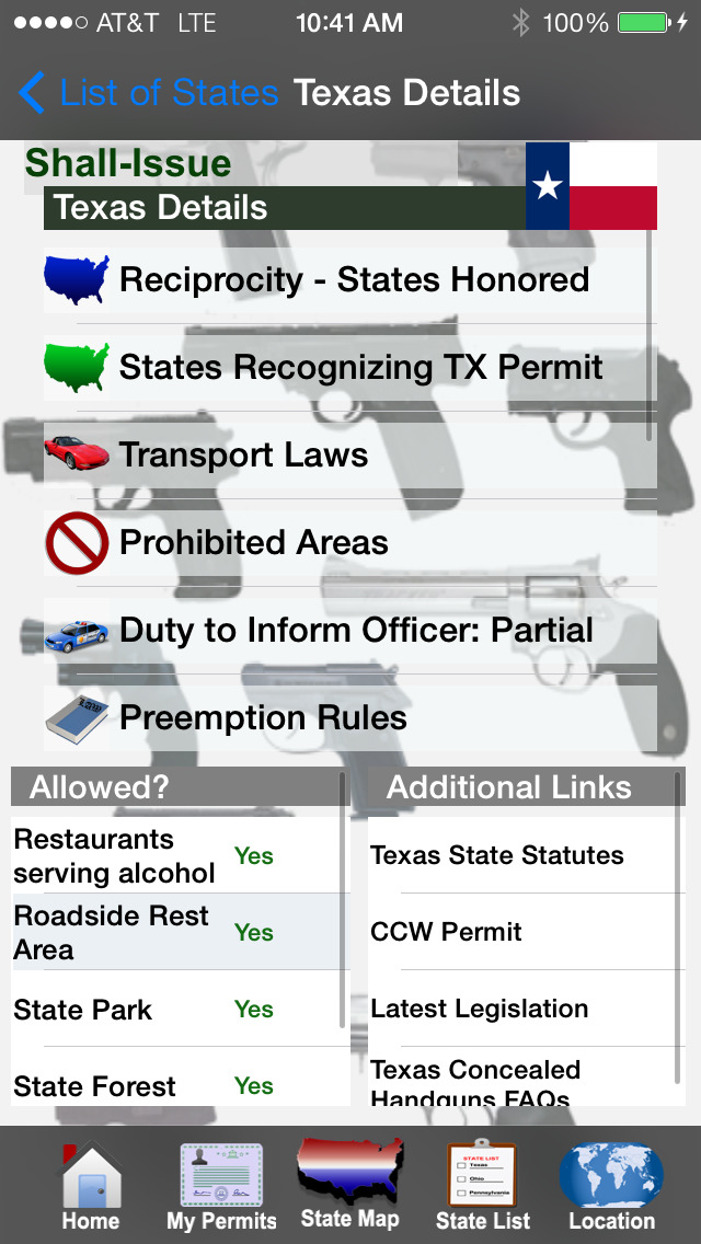 CCW – Concealed Carry 50 State screenshot 2