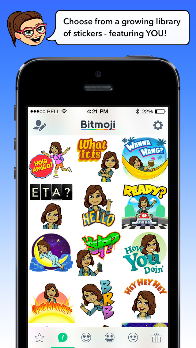 Bitmoji for Messenger screenshot 2