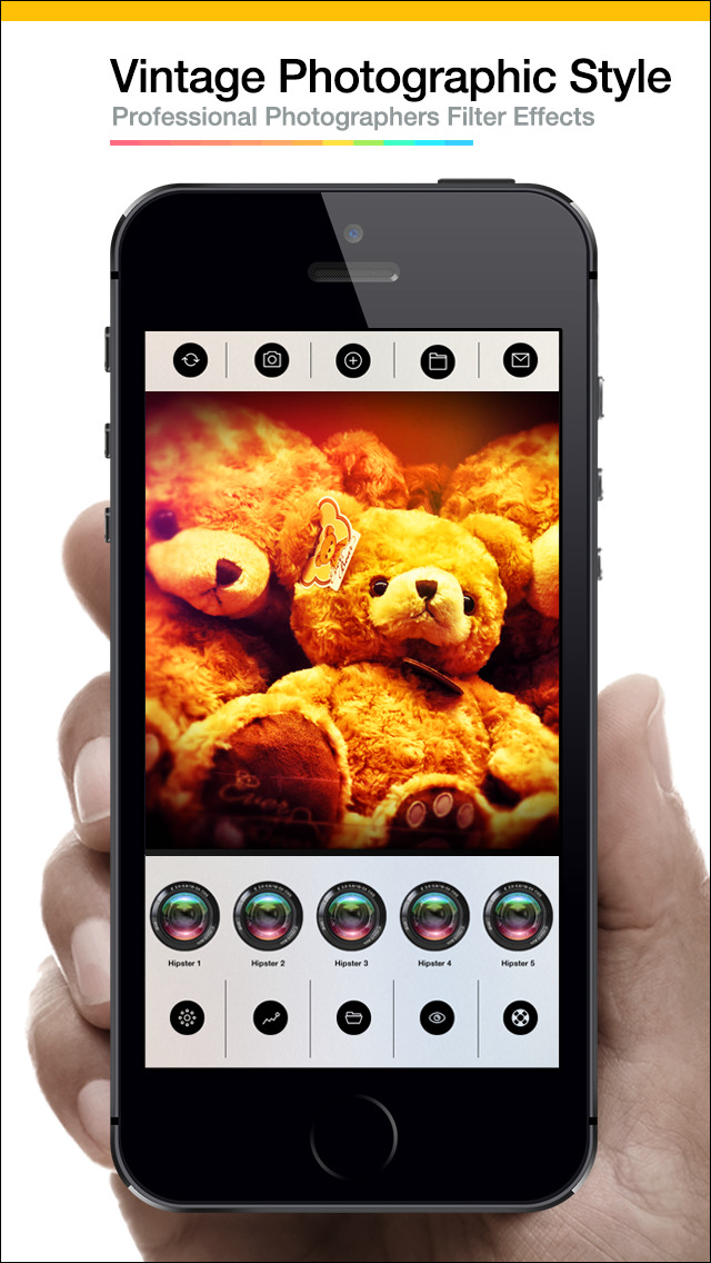 Pro After Vintage Shutter Visual Creator Plus - camera effects plus photo editor screenshot 3