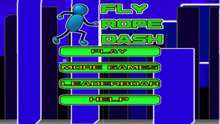 Fly  Rope  Dash PRO screenshot 1
