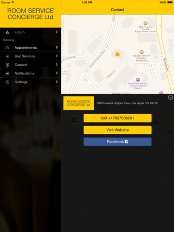 Room Service Concierge Ltd screenshot #3