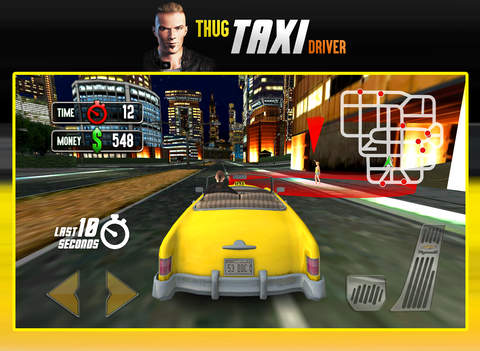 Thug Taxi Driver - AAA Star Game screenshot 7
