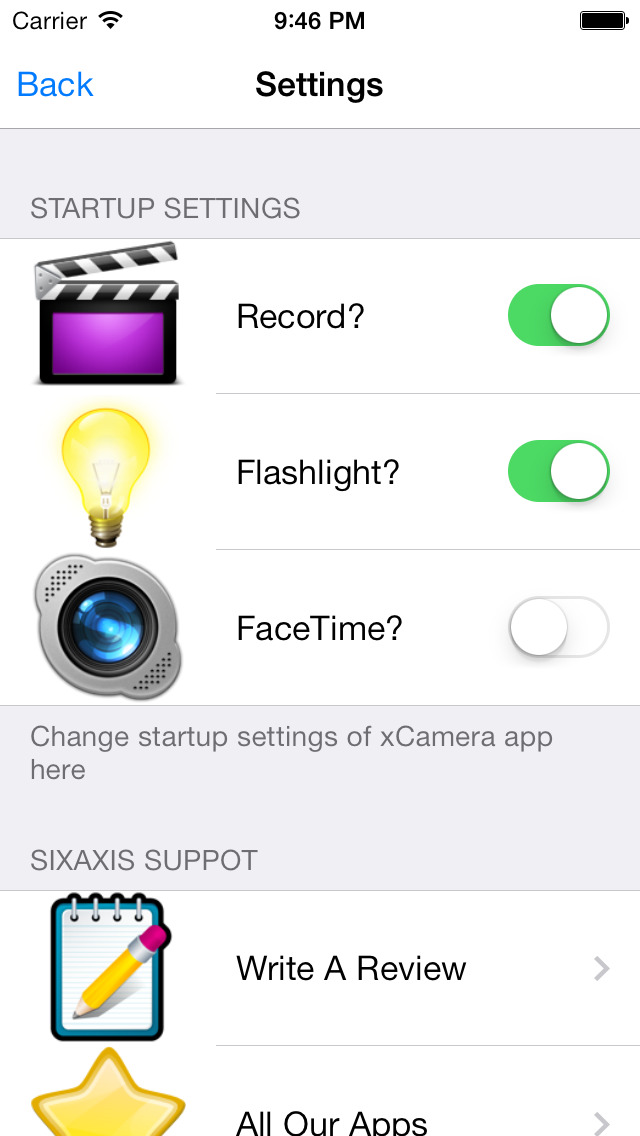 Camera Plus - Fast One Tap Video Camera screenshot 2