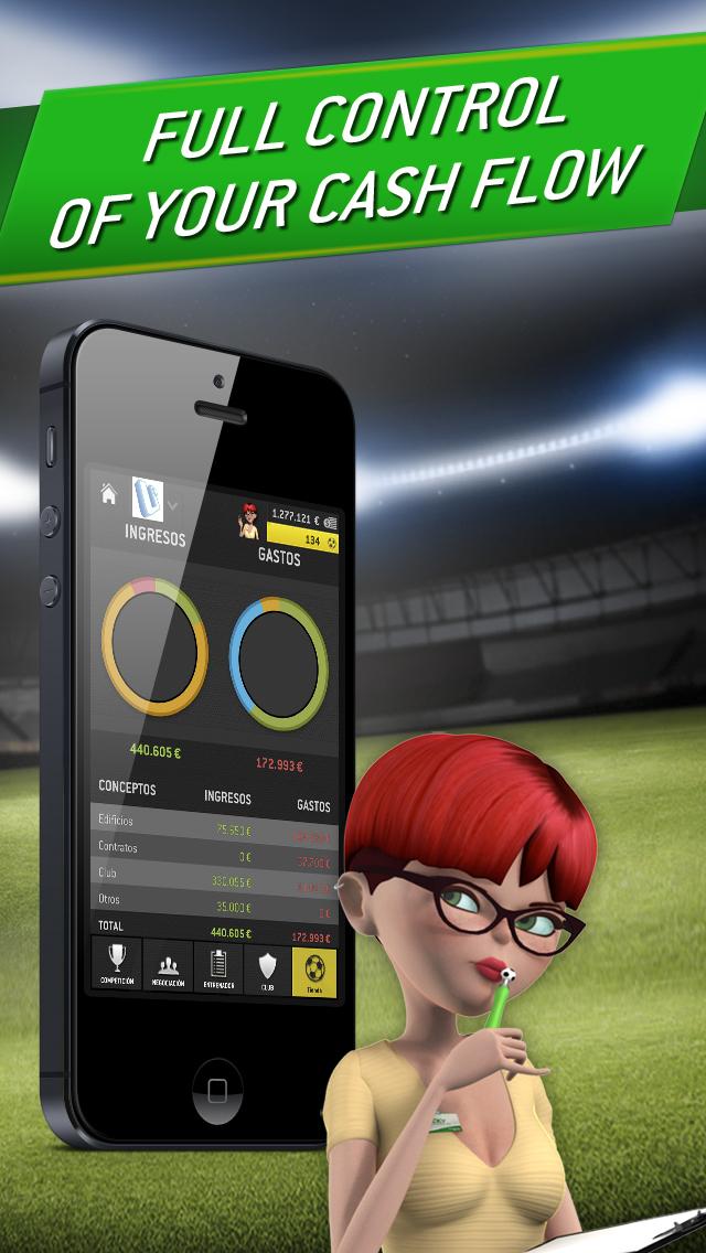Striker Manager 2: Lead your Football Team screenshot 3
