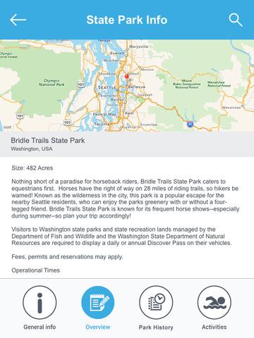 Washington National Parks & State Parks screenshot 8