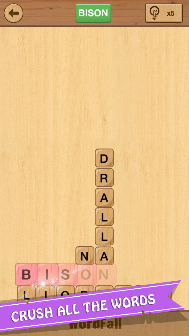 WordFall - Brain Training Game to Search Words screenshot 3