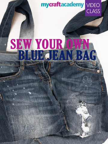 Sew Your Own Blue Jean Bag screenshot 6