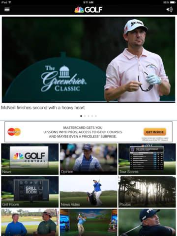 Golf Channel screenshot 6