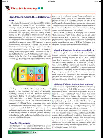 Curriculum Magazine screenshot 6