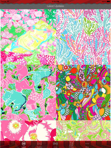 Wallpaper for Lilly Pulitzer Design HD and Quotes Backgrounds Creator with Best Prints and Inspiration screenshot 6