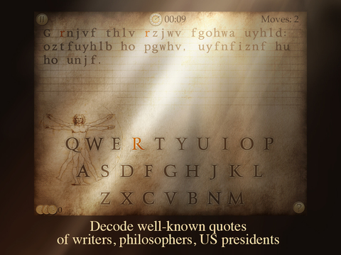 Next Quote - What's the Quote? Break the code & solve cryptogram to acquire the wisdom! screenshot 7