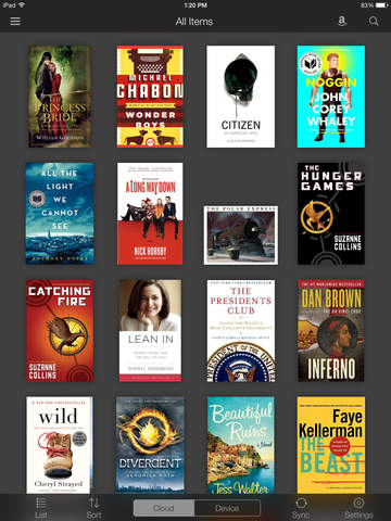 Amazon Kindle screenshot 7