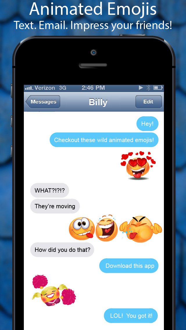 Emoji Art - Keyboard Messenger with Cool Emojis screenshot 1
