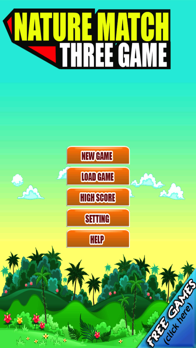 Free Match Game Nature Match Three screenshot 5