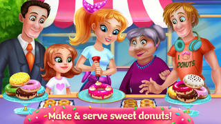My Sweet Bakery - Delicious Donuts screenshot 1