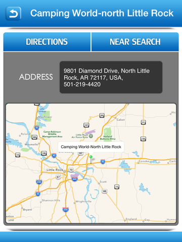 Winnebago Motorhome Service Centers screenshot 8
