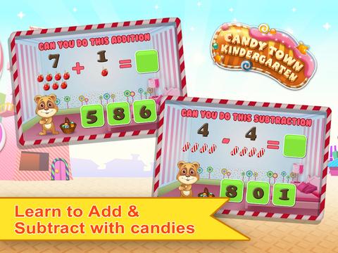 Candy Town Kindergarten - Kids educational app screenshot 6