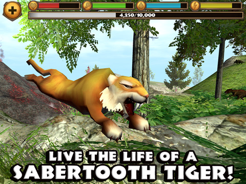 Sabertooth Tiger Simulator screenshot 6